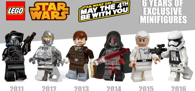 LEGO Star Wars May the 4th : retour sur 6 années de minifigs exclusives