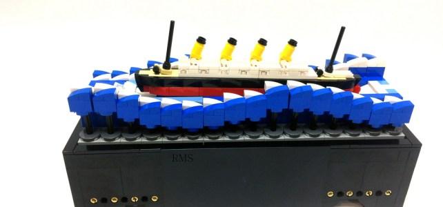 Le Titanic (avant de rencontrer un gros glaçon)