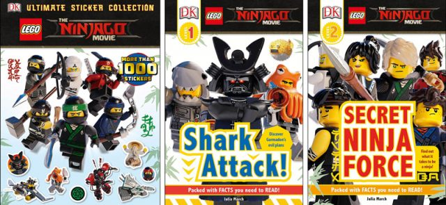 Livres LEGO Ninjago Movie