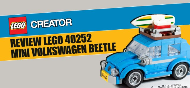 REVIEW LEGO Creator 40252 Mini Volkswagen Beetle