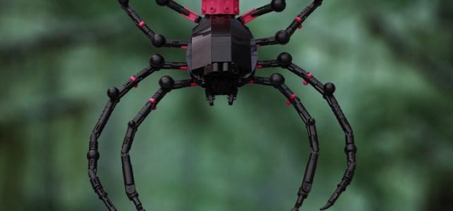 Araignée et montgolfière