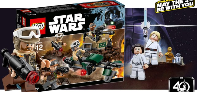 Star Wars May the 4th : -30% aujourd'hui sur le set LEGO 75164 Rebel Trooper Battle Pack