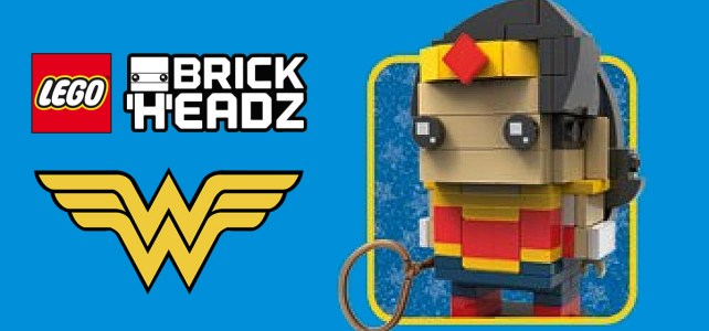 LEGO BrickHeadz Wonder Woman inédite