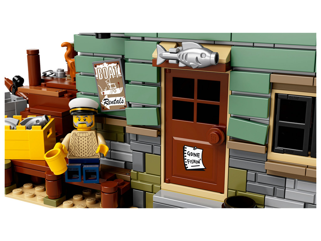 Lego ideas 21310 old fishing store ce sera 159 99 en for Lego old fishing store