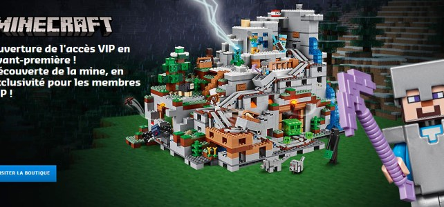 LEGO Minecraft 21137 The Mountain Cave VIP