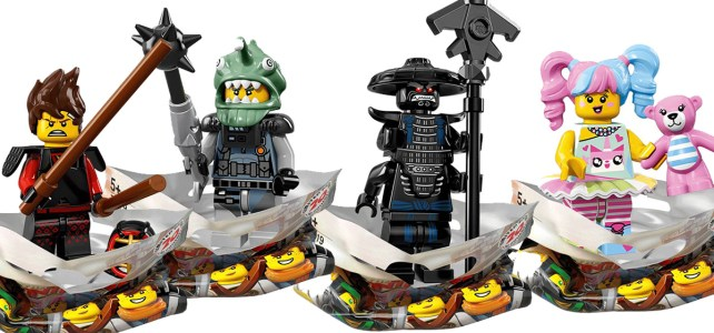 Minifigs à collectionner The LEGO Ninjago Movie (LEGO 71019) : les 20 personnages !