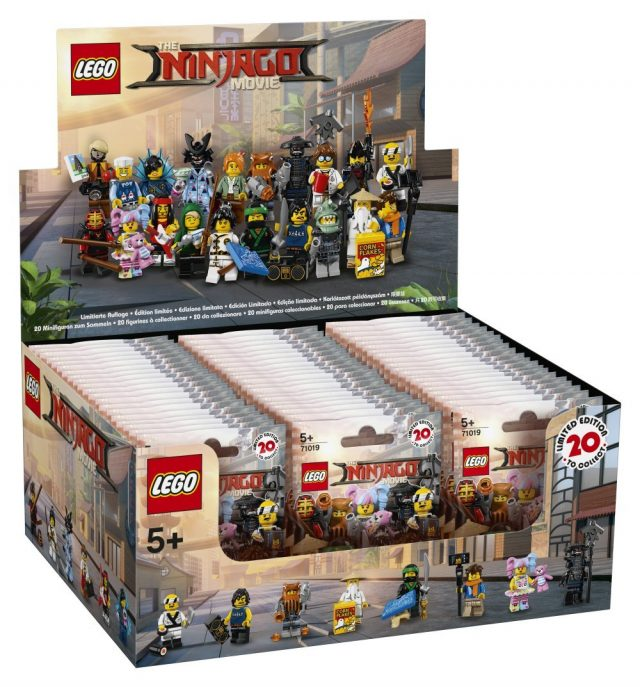 précommande Minifigs à collectionner The LEGO Ninjago Movie