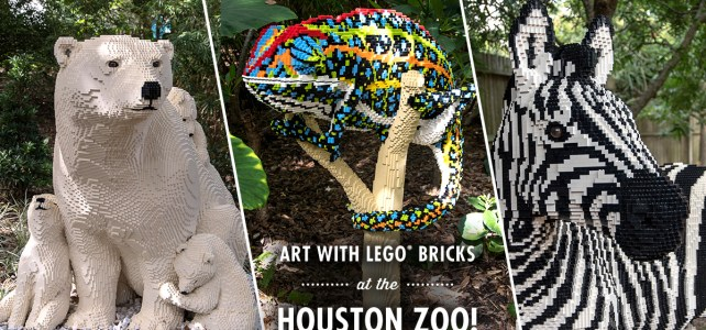 Houston Zoo – Nature Connects – Art with LEGO Bricks