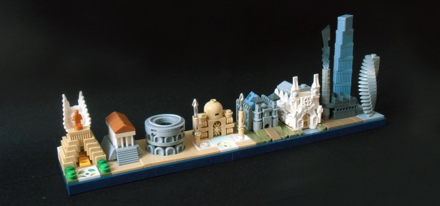 LEGO Architecture Skyline evolution