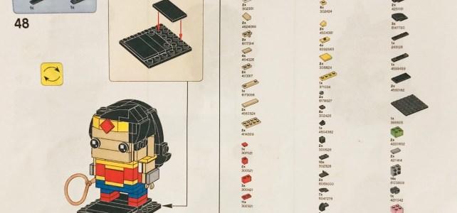 LEGO BrickHeadz Wonder Woman Instructions