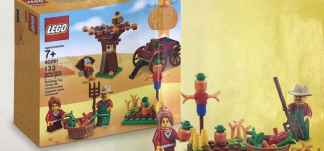 LEGO Seasonal Thanksgiving (40261) : premier visuel officiel