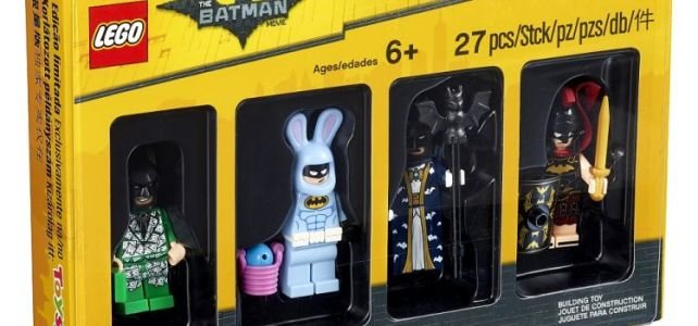 Bricktober Toys R Us : nouveau pack exclusif 5004939 The LEGO Batman Movie Minifigures Set