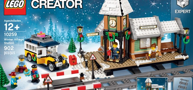 LEGO Creator Expert 10259 Winter Village Station et les autres sets de Noël disponibles sur le Shop@Home