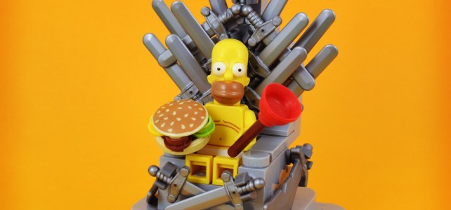 Game of Thrones : Ze Throne of Homer