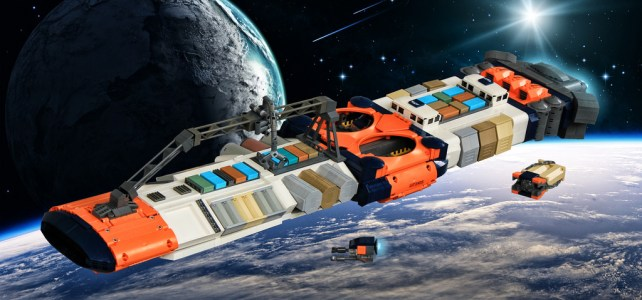SHIPtember : porte-conteneurs de l'espace et vaisseau furtif