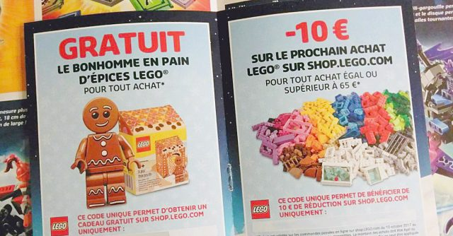 Catalogue LEGO Noel 2017