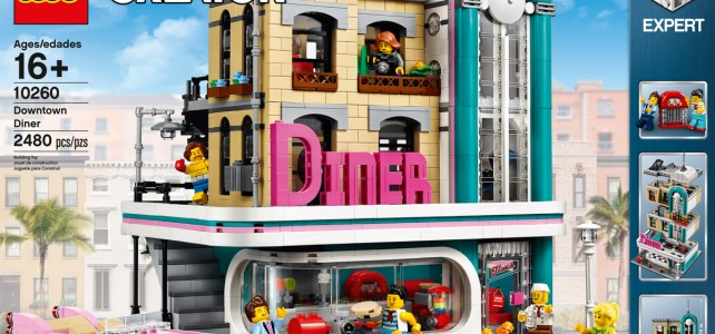 LEGO Creator Expert 10260 Downtown Diner annonce