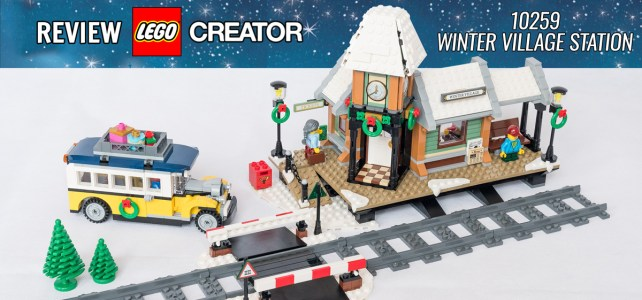 REVIEW LEGO Creator Expert 10259 Winter Village Station 01