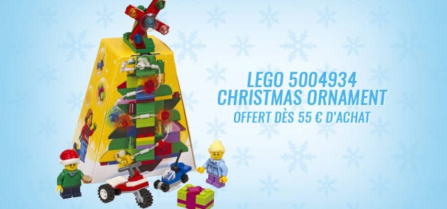 LEGO 5004934 Christmas Ornament