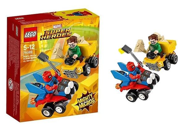 LEGO 76089 Marvel Mighty Micros Scarlet Spider vs Sandman