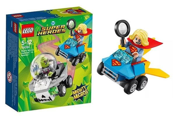 LEGO 76094 DC Comics Mighty Micros Supergirl vs Brainiac