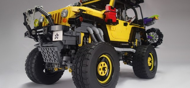 Jeep Rubicon et Power Functions