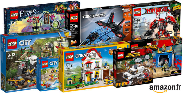 Promotions Amazon LEGO 2017
