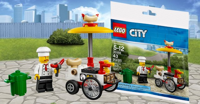 polybag LEGO City 30356 Hot Dog Stand offert