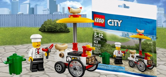 Chez LEGO : polybag LEGO City 30356 Hot Dog Stand offert