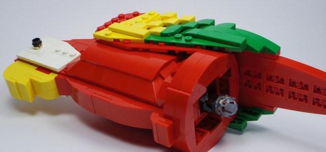 LEGO Perroquet Ant-Man