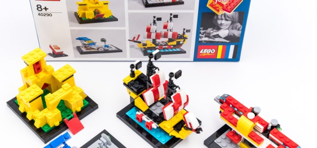 REVIEW LEGO 40290 : le set anniversaire 60 Years of the Brick