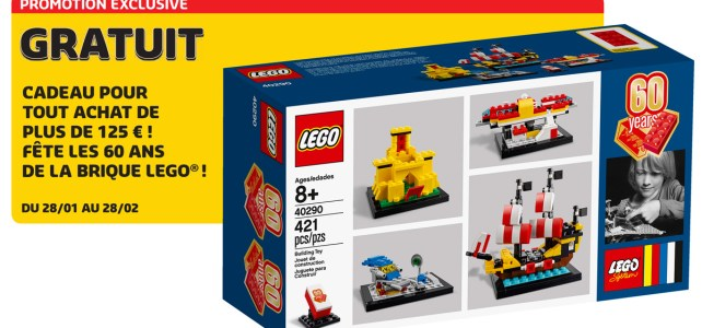 Set anniversaire 60 Years of the LEGO Brick offert