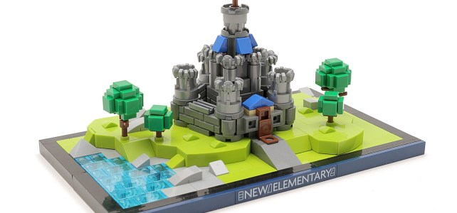 LEGO Nexo knights micro chateau