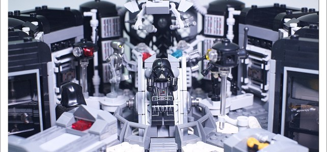 La transformation d'Anakin en Dark Vador, version UCS