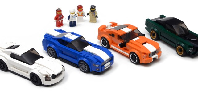LEGO Speed Champions : Ford Mustang collection