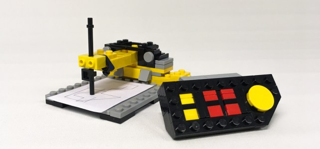 LEGO Technic 8094 Control Center microscale