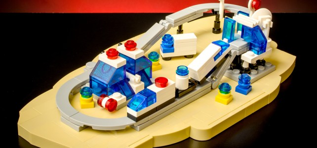 Monorail Transport System LEGO 6990 microscale