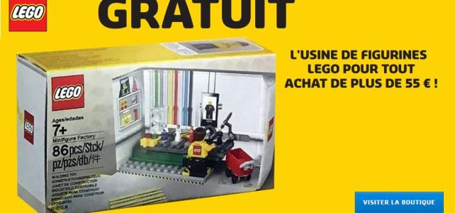 Chez LEGO : le set anniversaire 5005358 LEGO Minifigure Factory Set offert