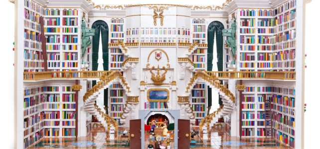LEGO Disney Beauty and the Beast Library - La Belle et la Bête