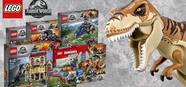 nouveautés LEGO Jurassic World 2 Fallen Kingdom