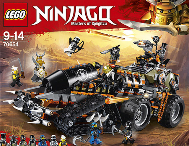 nouveaut s lego ninjago t 2018 les visuels officiels hellobricks. Black Bedroom Furniture Sets. Home Design Ideas