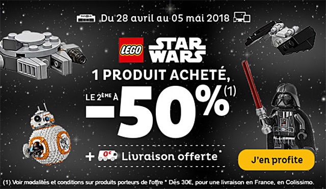 Promo Toys R Us LEGO Star Wars