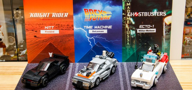 KITT, DeLorean et Ecto-1 au format Speed Champions