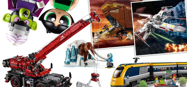 Récap nouveautés LEGO 2018 : nouveaux trains et Power Functions 2.0, Star Wars, Technic, Batman, City, Powerpuff Girls, Unikitty et Minecraft