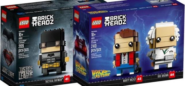 Nouveautés LEGO BrickHeadz mai 2018