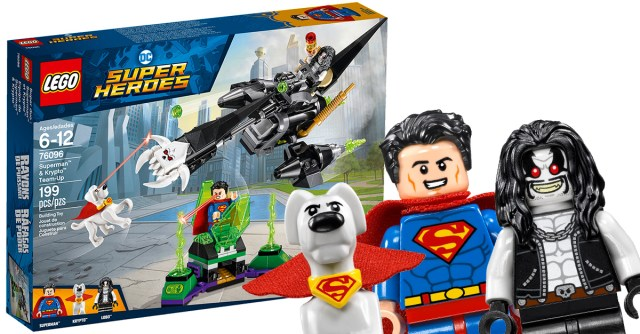 REVIEW LEGO 76096 Superman & Krypto Team-Up