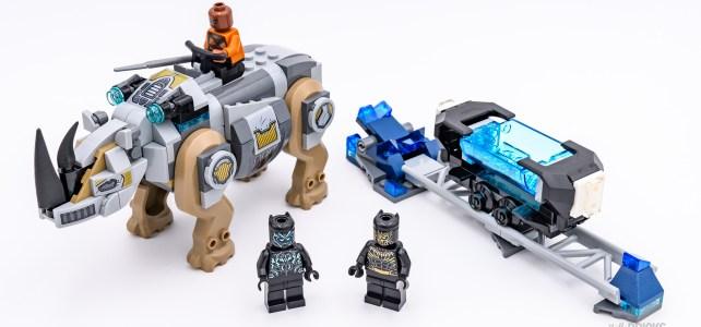 REVIEW LEGO Marvel 76099 Black Panther VS Killmonger
