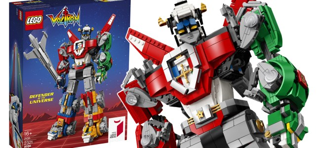 LEGO Ideas 21311 Voltron Defender of the Universe : l'annonce officielle