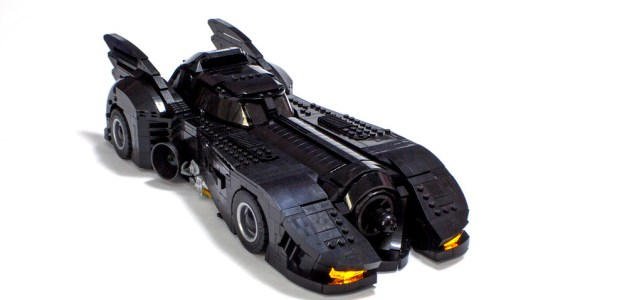 La Batmobile version Tim Burton
