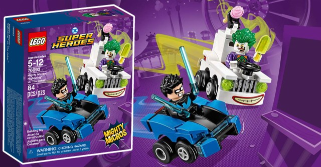 REVIEW LEGO 76093 DC Comics Mighty Micros Nightwing vs The Joker